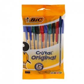 Bolígrafos Bic Cristal Surtido