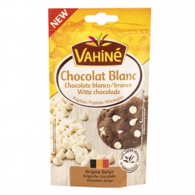 Pepitas de chocolate blanco Vahiné 100 g.