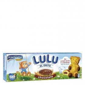 Bizcocho de chocolate Osito LuLu Fontaneda150 g.