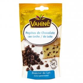 Pepitas de chocolate con leche Vahiné 100 g.