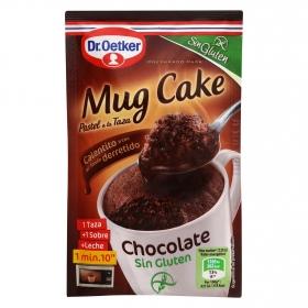 Mug Cake chocolate sin gluten