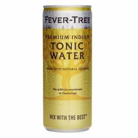 Tónica Fever Tree Premium Indian lata 25 cl.