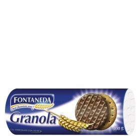 Galletas con chocolate Granola Fontaneda 300 g.