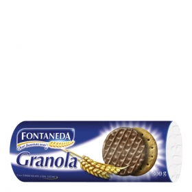 Galleta Granola con chocolate