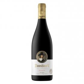 Vino D.O. Rioja tinto reserva Faustino V 75 cl.