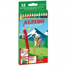 Lápices de Colores Alpino Surtidos 12 uds