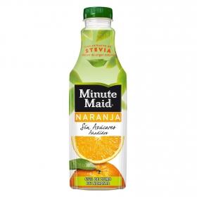 Zumo de naranja Minute Maid sin azúcar con stevia botella 1l.