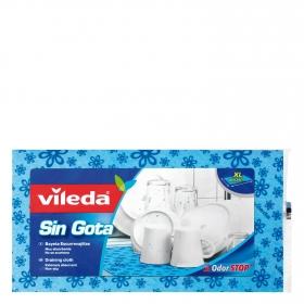 Bayeta escurrevajillas Sin gota XL VILEDA  - Azul