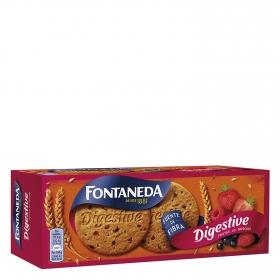 Galletas con frutas del bosque Digestive Fontaneda 250 g.