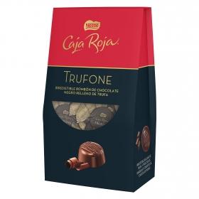 Bombones de chocolate negro rellenos de trufa Trufone Nestlé Caja Roja 110 g.