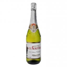 Sidra El Gaitero achampanada botella 70 cl.