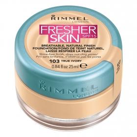 Maquillaje líquido Fresher skin SPF15 103 True Ivory