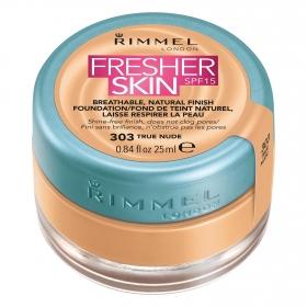 Maquillaje líquido Fresher skin SPF15 303 True Nude Rimmel 1 ud.