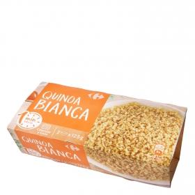Quinoa blanca microondas Carrefour pack de 2 ud. de 125 g.