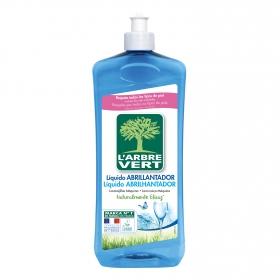 Abrillantador de lavavajillas ecológico L'abre Vert 750 ml.