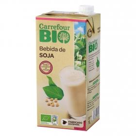 Bebida de soja ecológica Carrefour Bio brik 1 l.