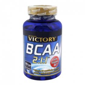 Complemento alimenticio BCCA Victory 120 cápsulas.