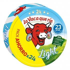 Queso en porciones Light La Vaca que ríe 24 ud.