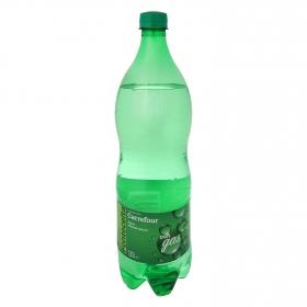 Agua mineral natural con gas