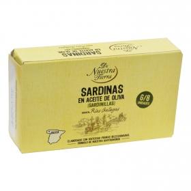 Sardinillas en aceite de oliva De Nuestra Tierra 60 g.