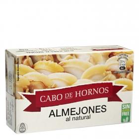 Almejones al natural Cabo de Hornos sin gluten 63 g.