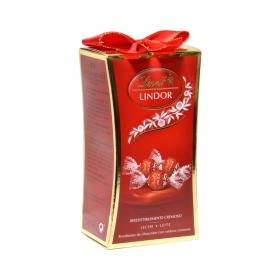 Bombones de chocolate con relleno cremoso