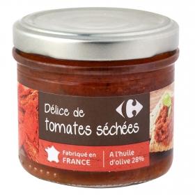 Paté de tomates secos Carrefour 100 g.