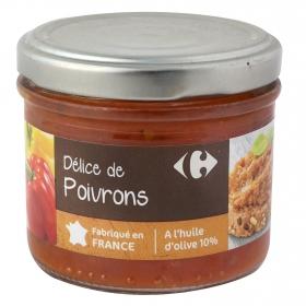 Paté de pimientos Carrefour 100 g.