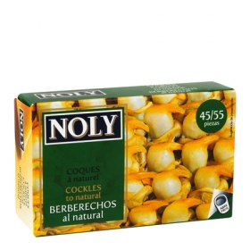 Berberechos al natural Noly 65 g.