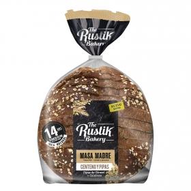 Pan de hogaza con centeno y pipas The Rustik Bakery 450 g.