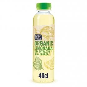 Limonada Font Vella Organic sin gas botella 40 cl.