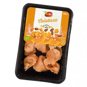 Pasta ecológica rellena de calabaza Vivibio 250 g.