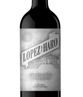 H. López de Haro Colección Barricas Tinto 2016