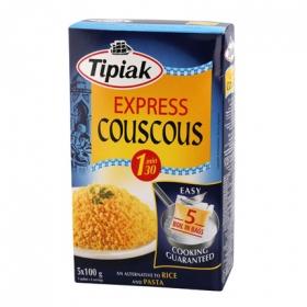 Cous Cous Express Tipiak pack de 5 unidades de 100 g.