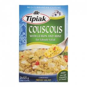 Cous Cous con limón y menta Tipiak 250 g.