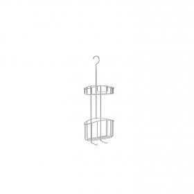 Cestillo de ducha de   10CM  Metalizado