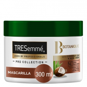 Mascarilla capilar coco hidratante Botanique Tresemmé 300 ml.