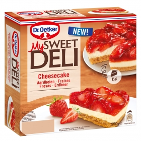Tarta helada cheesecake Dr. Oetker 550 g.