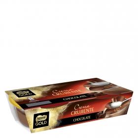 Crema crujiente de chocolate