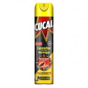 Insecticida cucarachas y hormigas spray Cucal 400 ml.