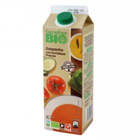 Gazpacho ecológico Carrefour Bio sin gluten 1 l.