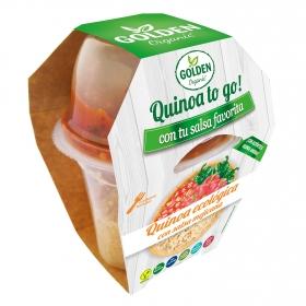 Quinoa to go¡ con salsa mejicana ecológica Golden Organic 240 g.