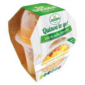 Quinoa to go¡ con salsa tropical ecológica Golden Organic 240 g.