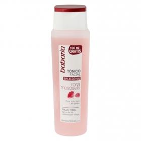 Tónico facial rosa mosqueta Babaria 300 ml.