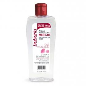 Agua desmaquillante micelar rosa mosqueta Babaria 200 ml.