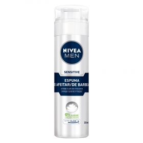 Espuma de Afeitar Sensitive Nivea Men 200 ml.