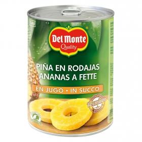 Piña en su jugo en rodajas Del Monte 350 g.