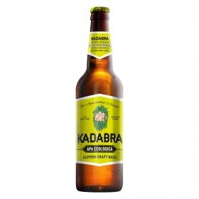 Cerveza artesana ecológica Kadabra APA botella 33 cl.