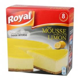 Preparado para pastel mousse sabor limón