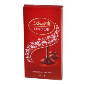 Chocolate con leche Lindt Lindor 100 g.